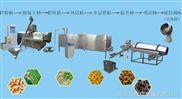 豌豆脆油炸面食生產線
