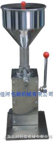 SGY-35型手动膏液灌装机