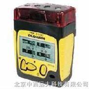 便携式复合气体检测仪(法国/主机+电动泵+可燃气,H2S,CO2,O2)