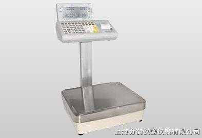 供应青岛电量程30-500kg的子不干胶打印称