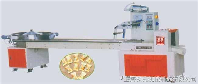 椭圆形糖果全自动高速枕式包装机