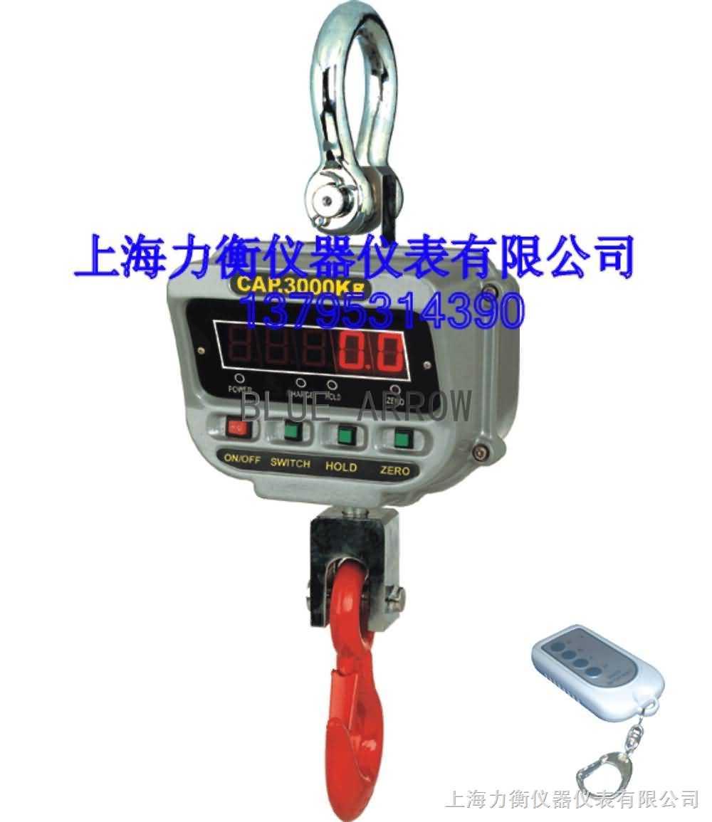 供应玉溪量程600kg-15T的电子吊秤