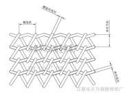 波串型网带-江都市天马钢塑网带厂