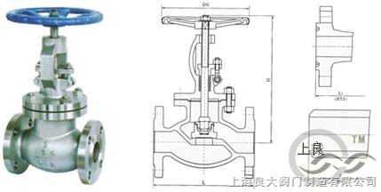 美标截止阀 安装尺寸 规格标准 结构图 使用说明书图片