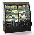 前开门欧式糕点柜 小型蛋糕柜 双层蛋糕柜