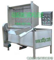 QDY-1800气动出料炸香酥花生油炸机/炸花生酱油炸机(电加热型)