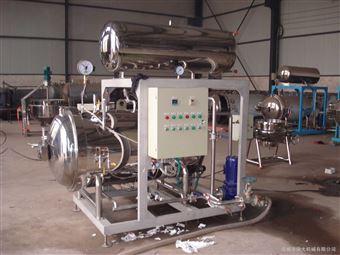 700-1200热水蒸汽式杀菌锅