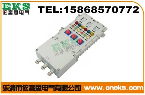 BXK-A6D6B2K1防爆控制箱(ABB元件) 铸铝防爆控制箱