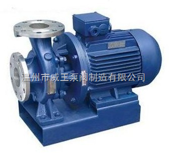 ISWH型卧式单级不锈钢管道离心泵