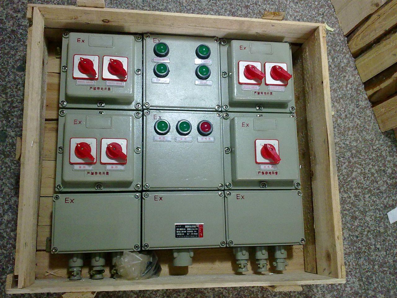 防爆配电箱 BXM51-T4回路220V防爆照明配电箱 BXD51-T4回路380V防爆动力配电箱
