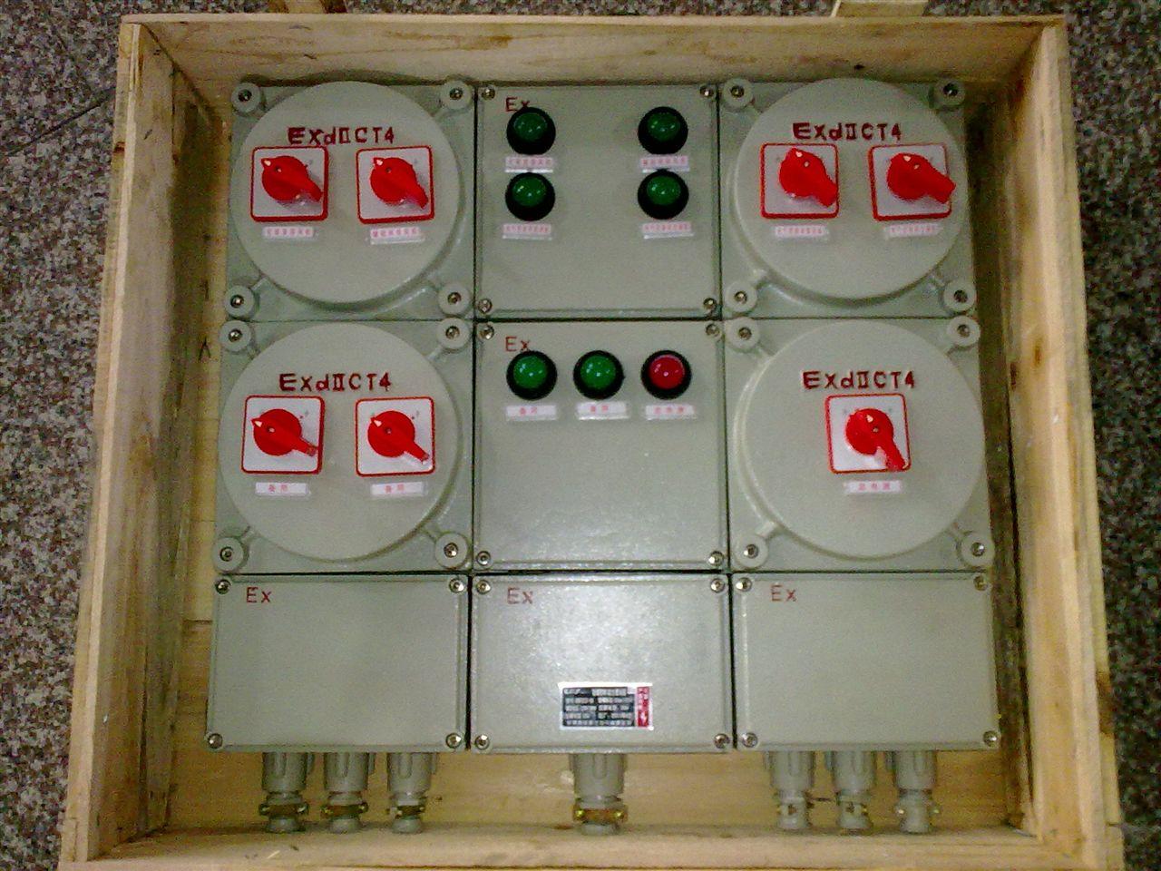 防爆配电箱 BXX51防爆动力检修箱子 BXX51-T4回路380V防爆动力检修箱