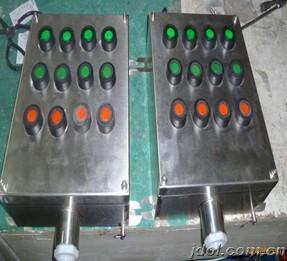 不锈钢操作柱 FZC-G/380V不锈钢三防操作柱 不锈钢立式防爆操柱