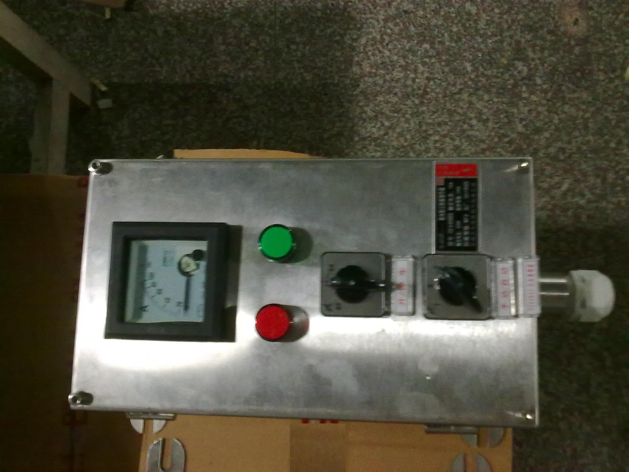 304不锈钢操作箱 FZC-G不锈钢现厂操作箱(挂式防爆操作箱)