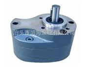 输油平稳的小流量液压齿轮泵