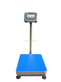 上海100kg带报警灯的台式电子秤可打印条标签
