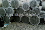 二手不锈钢列管冷凝器/转让螺旋板式换热器设备