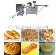 酥饼机操作流程绿豆饼机SZ-09B09C多功能酥饼机全自动酥饼机厂家直销