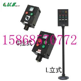 BZC8050-A2B1K1L二钮一表一开关(200/5立式)化工厂用防爆防腐操作柱(
