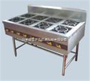 燃气煲仔炉 八眼煲仔炉 北京不锈钢厨房设备厂