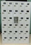 62门密码锁手机柜带充电器的手机充电柜